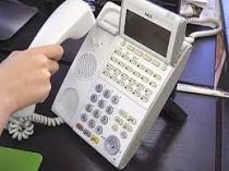 妙な電話対応の画像