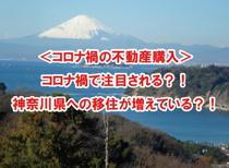 <コロナ禍の不動産購入> コロナ禍で注目される?!神奈川県への移住が増えている?!の画像