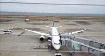 羽田空港展望デッキから飛行機を見てみた!の画像