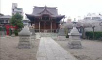 多摩川1丁目安方神社への画像