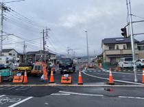 横沢通り、3月25日開通を目指しています!の画像