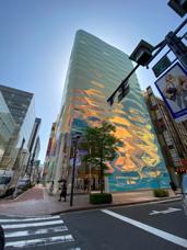 銀座7丁目 ルイヴィトン新店舗の画像
