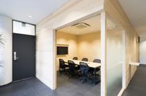 応接&会議スペース オフィス施工事例3の画像