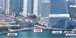 横浜市「みなとみらい21地区」 桜木町から新港ふと頭への新しいアクセスの画像