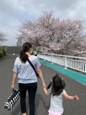 ■母と娘とときどき桜■の画像