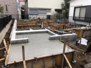 狭山市富士見 基礎工事始まりました!の画像