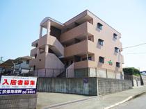 【メゾン・プルニエ(2LDK)】日の里団地内の高台に位置する鉄骨造賃貸マンション!の画像