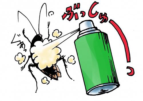 ゴキブリとの戦い(防衛編)の画像