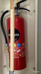 消火器の交換の画像