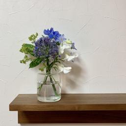 ポストに届くお花の画像