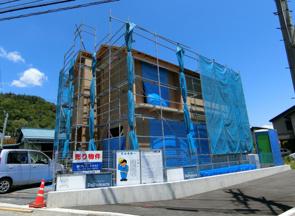 パパまるハウス 長野市浅川西条モデルハウス建築中です!!の画像