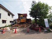 大仙市大曲の住宅用土地買取 解体事例の画像