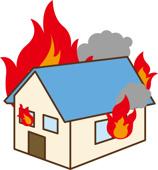 火災保険の重要性の画像