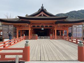 宮島の厳島神社の画像