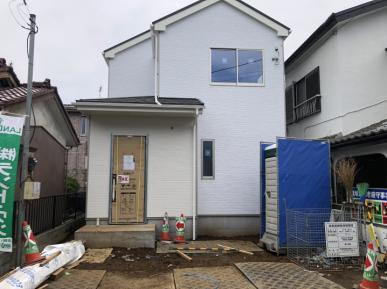 狭山市富士見2丁目 新築分譲住宅 足場外れました!の画像