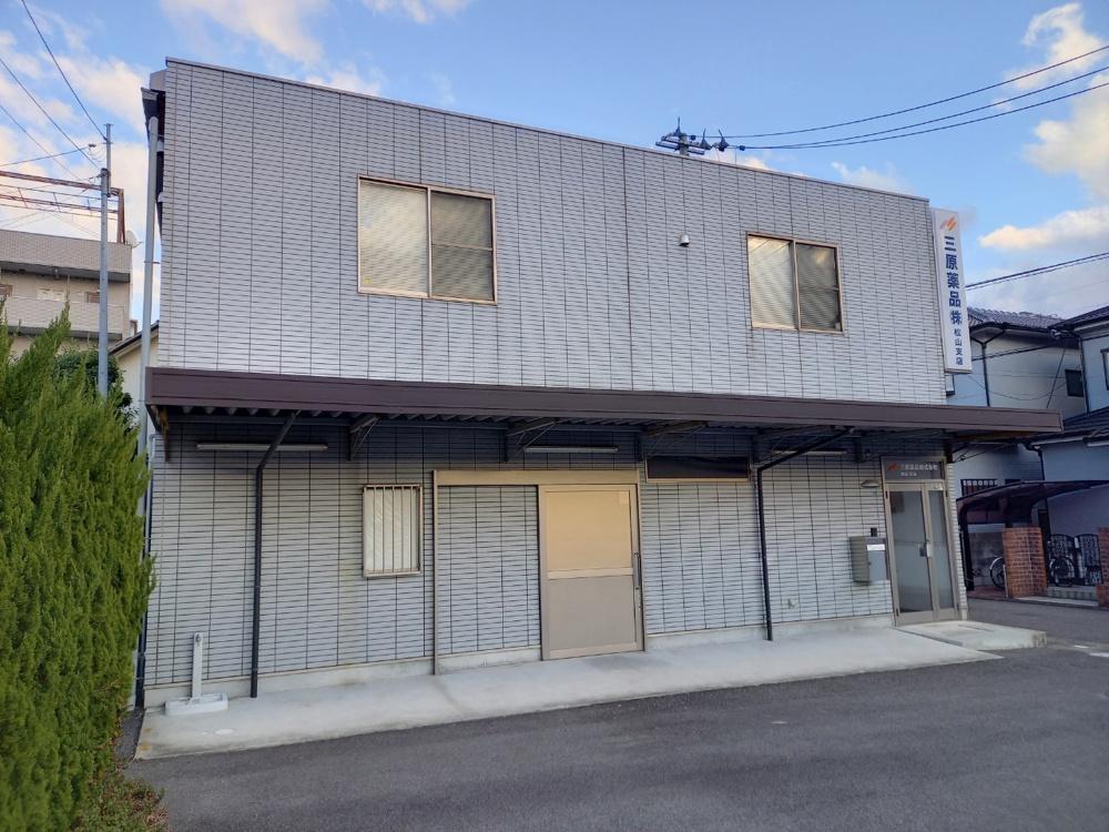 【松山市 倉庫】 小坂4丁目倉庫付事務所の画像