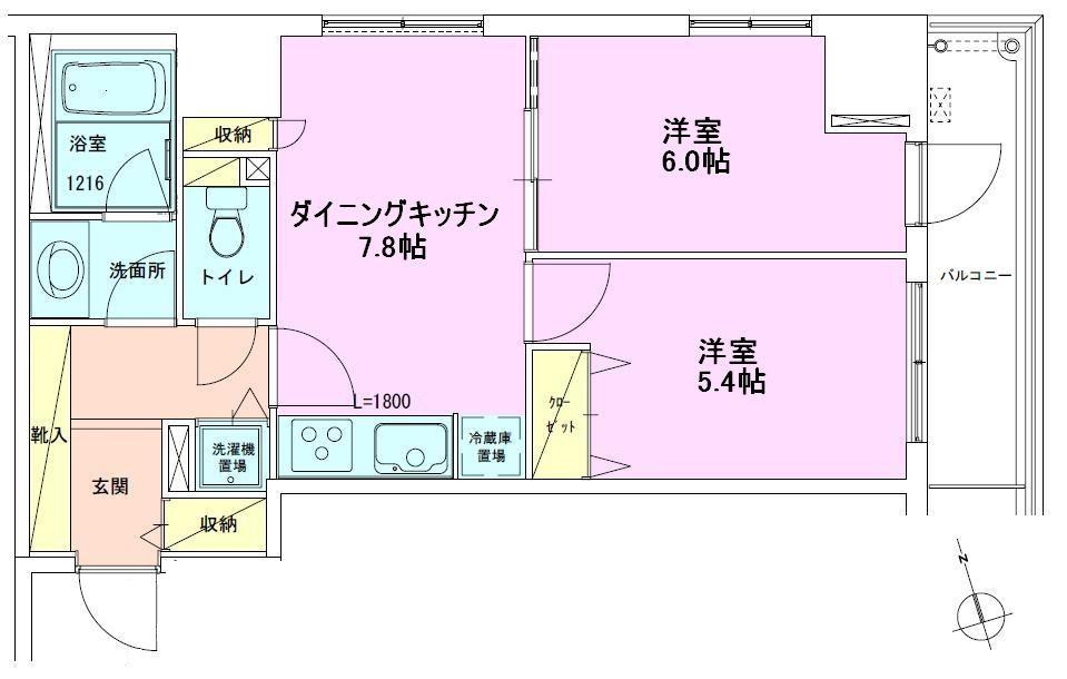 賃料改定★八丁堀★礼金0円の1DK・2DKの画像
