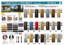 玄関戸(YKK VenatoD30 ピタットKey付)の画像