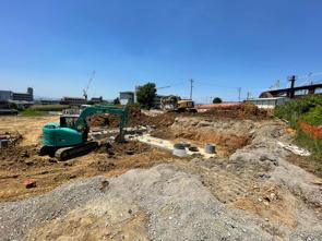 【◇現場の最新情報◇】タイセイパレス忍ヶ丘5期分譲地の進捗状況をご紹介します♪の画像
