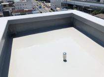 共用階段・屋上塔屋防水工事の画像