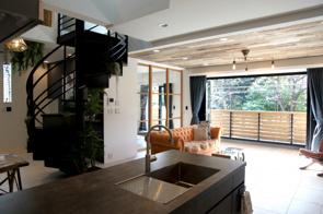 目黒区三田の家の画像