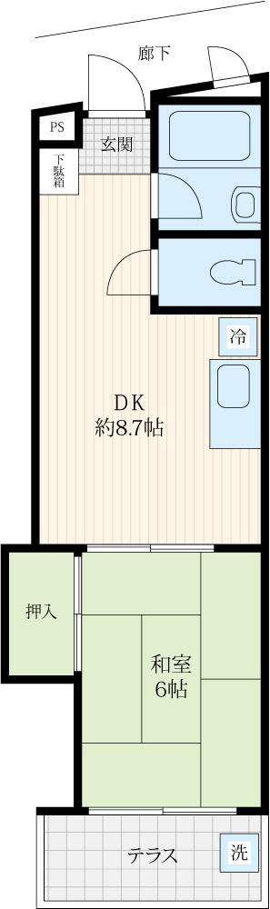 板橋区大谷口★リノベ済★中古マンションの画像