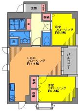 旗の台高級賃貸マンション 2LDKファミリータイプ募集開始です☆の画像
