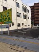 万代シティの月極駐車場のご紹介の画像