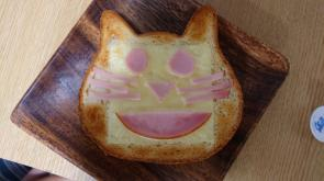 ねこ食パンの画像