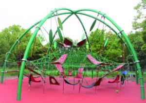 花博記念鶴見緑地公園に日本初上陸の大型遊具がオープン♪の画像