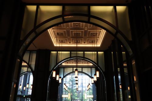 東京駅、新丸の内ビルディングへ行きました。の画像
