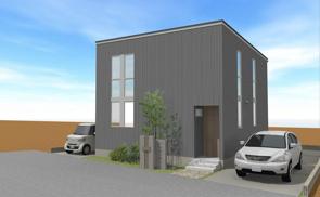 新モデルハウス建築中です【栗東市岡】の画像