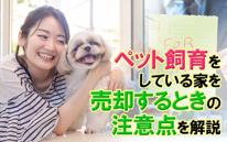 ペット飼育をしている家を売却するときの注意点を解説の画像