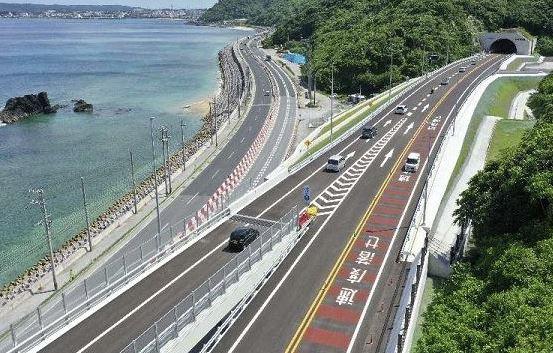 名護東道路開通しましたの画像