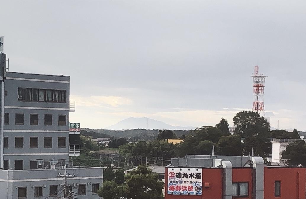 筑波山が見えますの画像