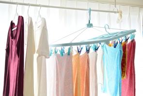賃貸物件で洗濯物干しが快適にできるアイデアとは?便利なアイテムも!の画像