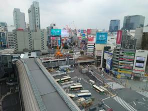 渋谷駅再開発202108の画像