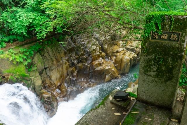 三股町にある紅葉スポット長田峡ってどんなところ?みどころやアクセスを知りたい!の画像