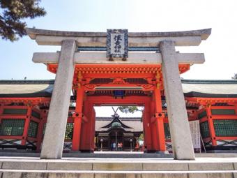大阪市港区にあるおすすめの神社!天満宮と住吉神社の魅力を知ろうの画像