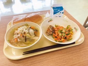 南アルプス市の学校給食に関する取り組みについての画像