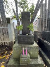 お墓参りからの根津神社の画像