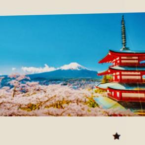 富士山初冠雪!の画像