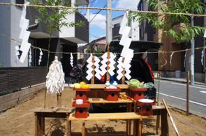 新築戸建を購入する際に地鎮祭をおこなう必要はある?タイミングは?の画像