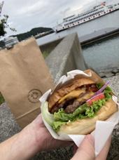 ★玉野探訪①★ハンバーガー店「#8WIRE」の画像