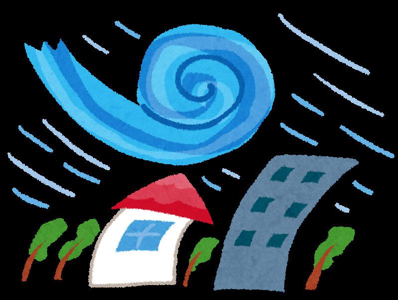 台風が来る前に!の画像