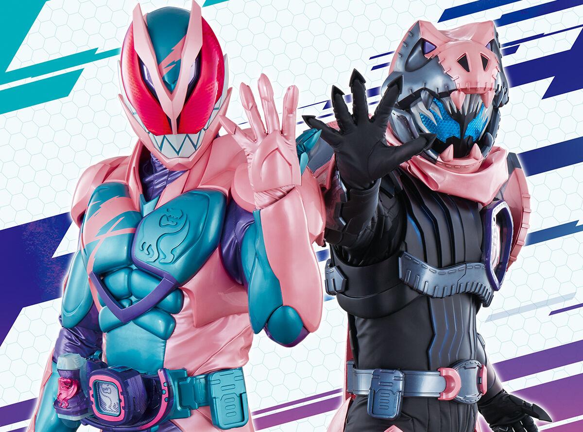 ピンクの仮面ライダーの画像