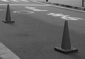 銀座で駐車禁止を見かけての画像