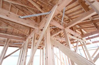 日本に古くから伝わる戸建て木造軸組工法とはの画像