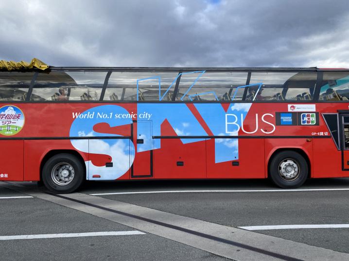 【スカイバス】昇仙峡や甲府市内を散策するツアーです。の画像