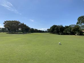 秋晴れゴルフの画像